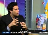 Zuria Vega, Jaime Camil y Mark Tacher en Primero Noticias Presentando Que Pobres Tan Ricos