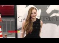 "Sophie Turner ""Game of Thrones"" Season 3 Premiere Red Carpet Arrivals"