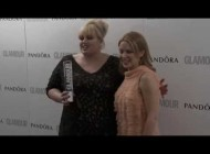Kylie Minogue & Rebel Wilson + Kylie Interview at Glamour Awards 2013