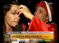 El cumpleaños de Darío Lopilato y la visita de Luisana - Telefe Noticias