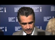 Colin Farrell at the Hollywood foreign association 2013