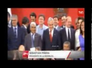 Mario Casas revoluciona el Palacio de la Moneda en Chile