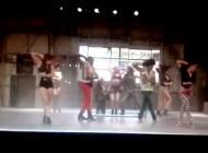 Bailarines De Britney Ensayando Para El Show De Las Vegas !!