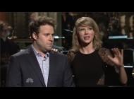 Зоуи Дешанель. Зоуи на шоу Saturday Night Live (SNL) - 12 Апреля. Seth Rogen SNL Monologue with James France, Taylor Swift And Zooey Deschanel
